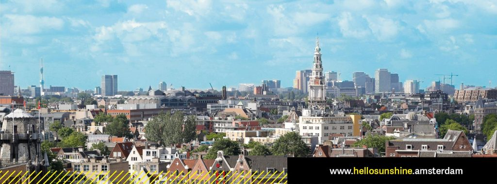 Interim Marketeer Hello Sunshine campagne Amsterdamse Zoncoalitie